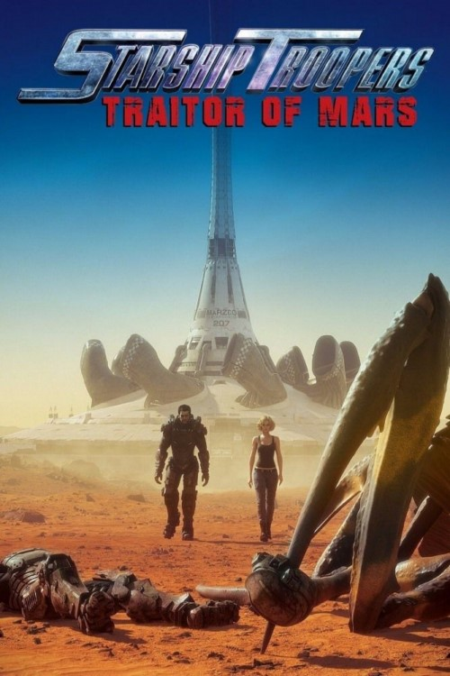 دانلود انیمیشن Starship Troopers: Traitor Of Mars 2017